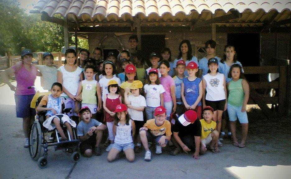 Bambini in visita - La vecchia fattoria