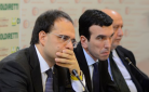 Roberto Moncalvo e Maurizio Martina