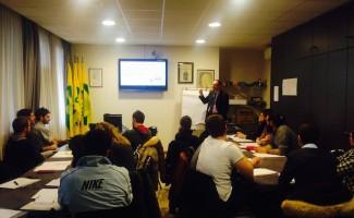 Agricoltura e giovani: l'aula del corso di Impresa 2.Terra in Lombardia
