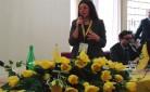 Maria Letizia Gardoni, durante il suo intervento