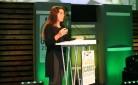 Maria Letizia Gardoni durante l'intervento alla Conferenza sull'agricoltura a Johannesburg