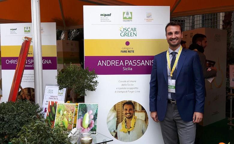 Oscar Green 2016, Andrea Passanisi tra i finalisti della X edizione
