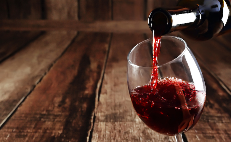 Vino rosso Made in Italy