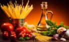 Ingredienti per un piatto tipico italiano