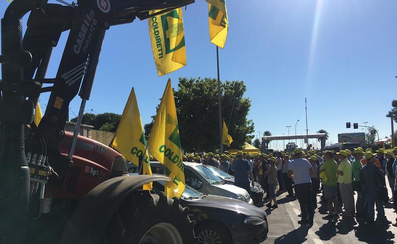 Guerra del grano: blitz degli agricoltori al porto di Bari
