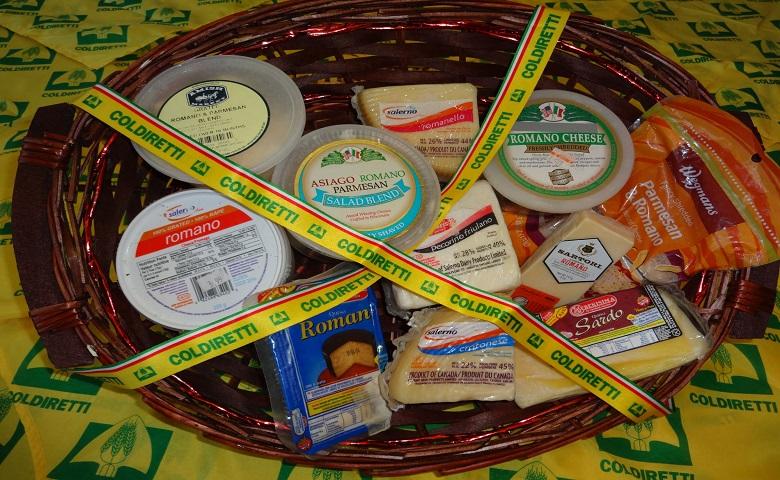 """Spesa con i prodotti """"fake"""" Made in Italy"""