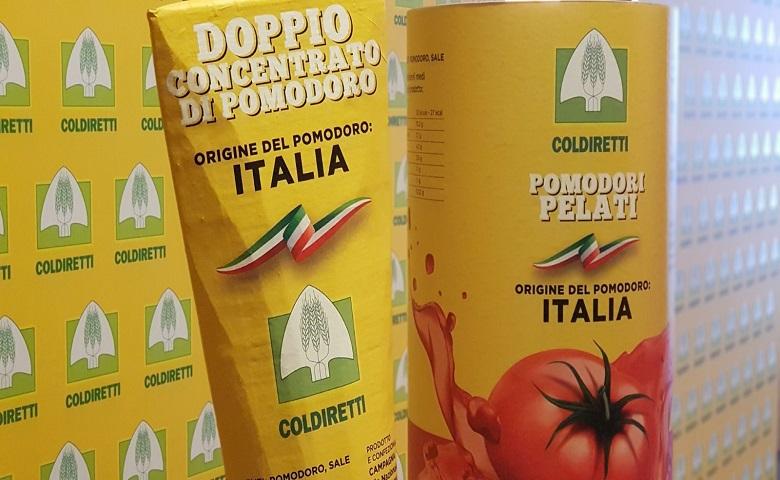 Etichettatura origine obbligatoria per derivati di pomodoro