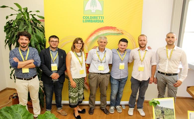 Giovani agricoltori lombardi vincitori premio Innovazione