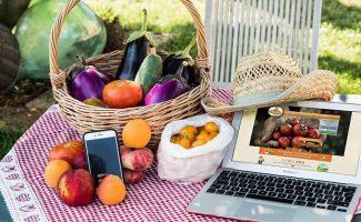 Azienda agricola Colle del Rio, l'orto con un'app