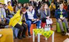 Villaggio delle Idee Matera- Presidente Prandini con Veronica Barbati