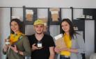 Sara, Erika e Luca, produttori di nocciole del Piemonte IGP